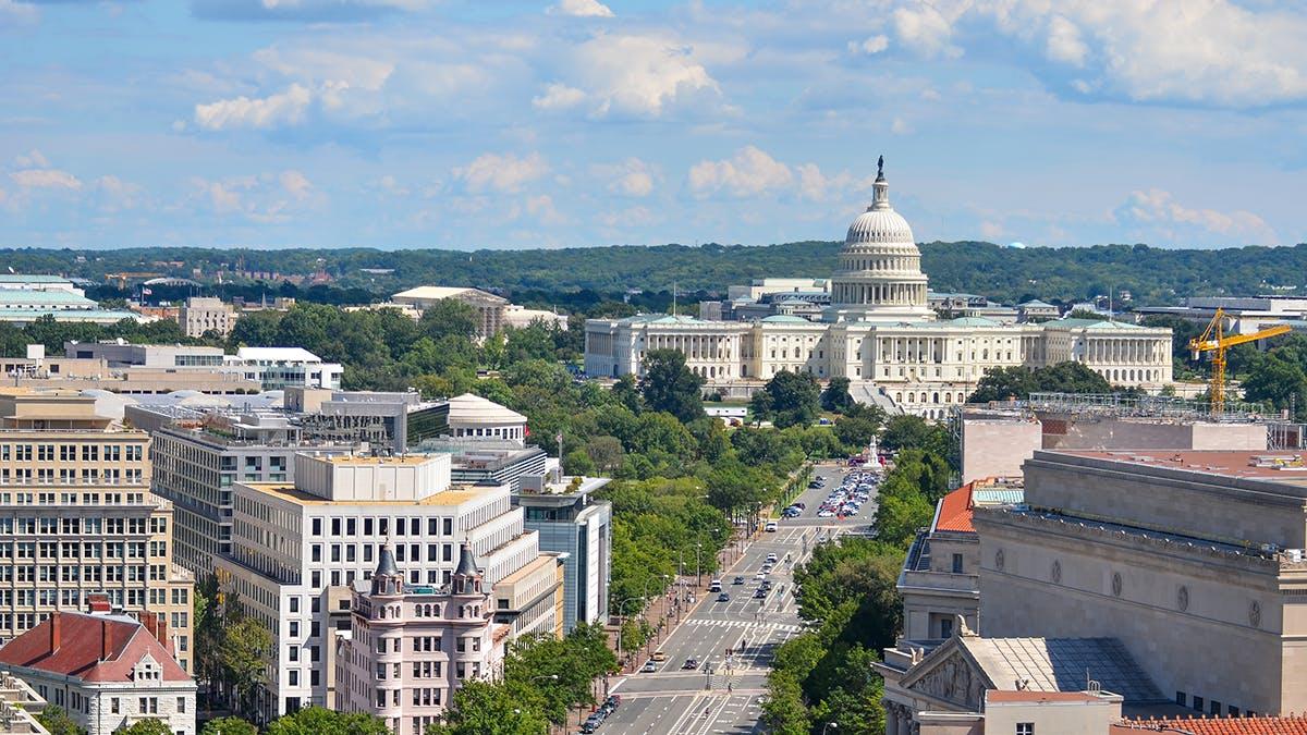 Washington DC Skyline - 2020 office space location trends