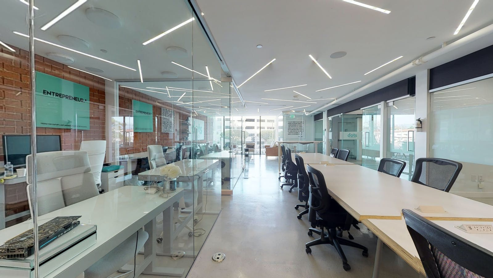Coworking Space - Flexible Office Space - Truss