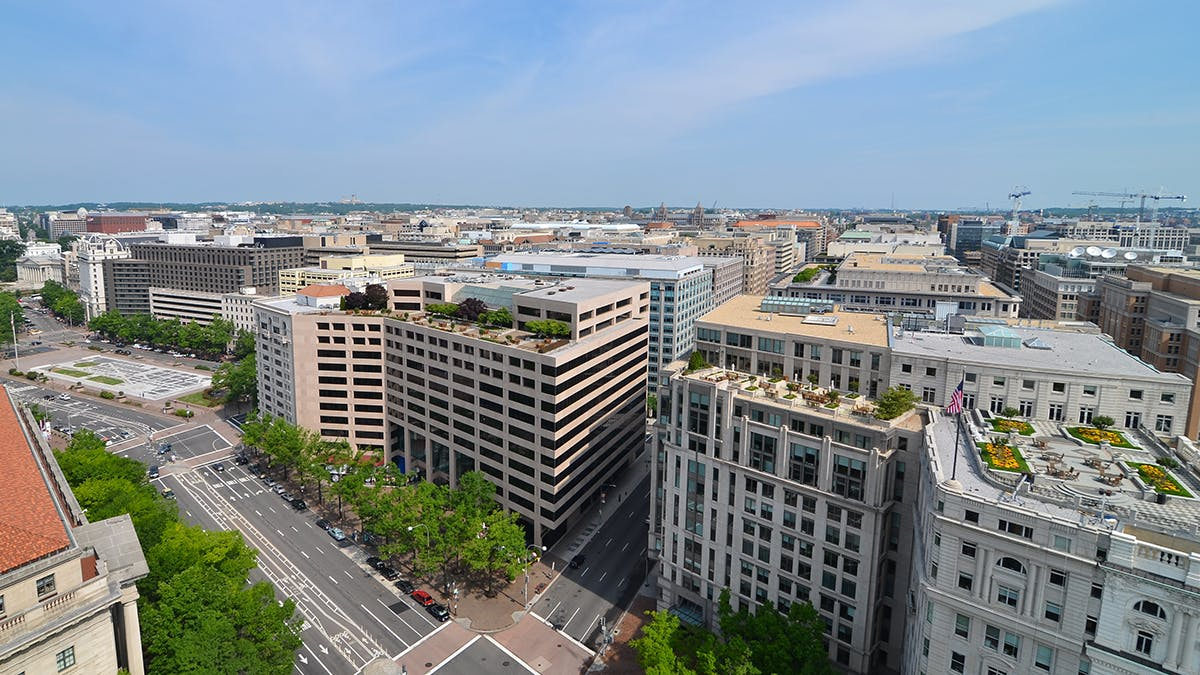 Washington DC office buildings - What does DC office space cost?