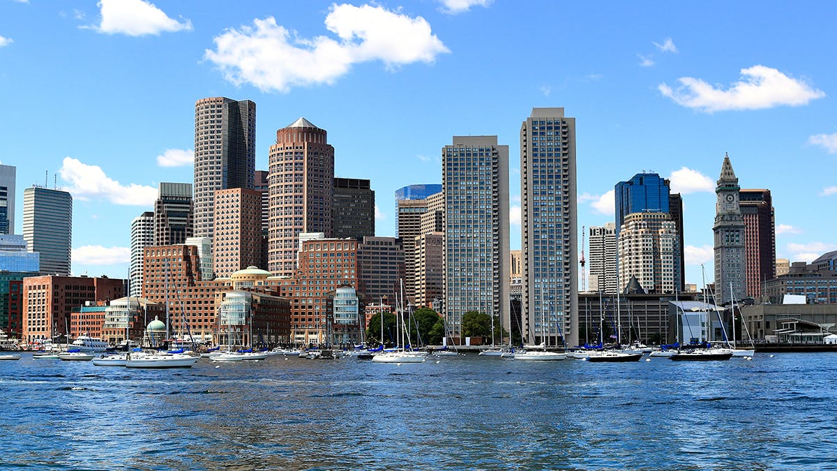 Boston City Skyline - Office Space Trends 2020